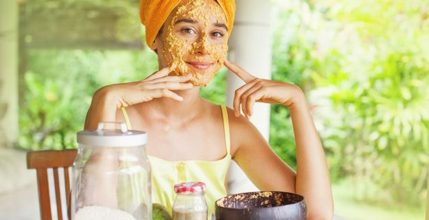 save money with homemade face scrub