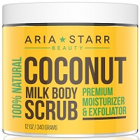 Aria Starr Coconut Milk Body Scrub Review