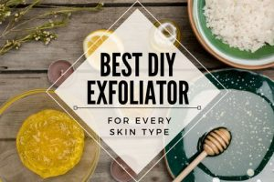 Best DIY Exfoliator For Every Skin Type
