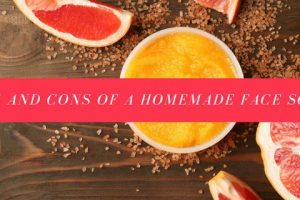 Pros And Cons Of A Homemade Face Scrub