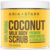 Aria Starr Coconut Milk Body Scrub Review